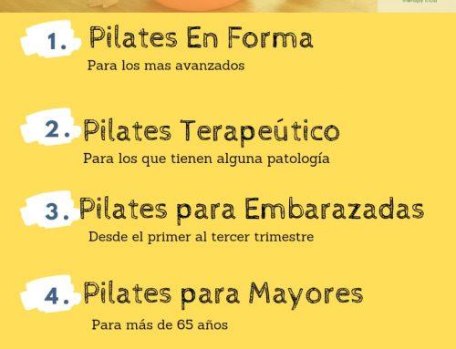 Impartimos Tipos de Pilates
